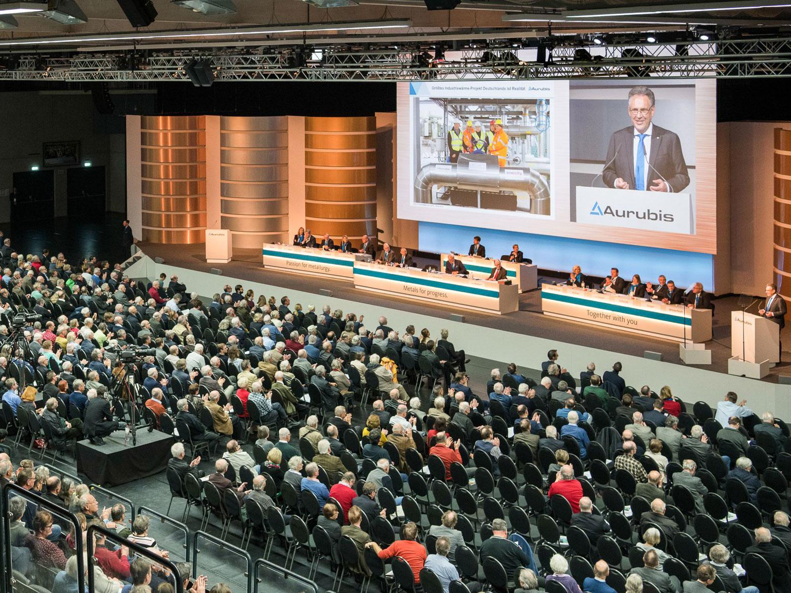 Hauptversammlung in der edel-optics.de Arena