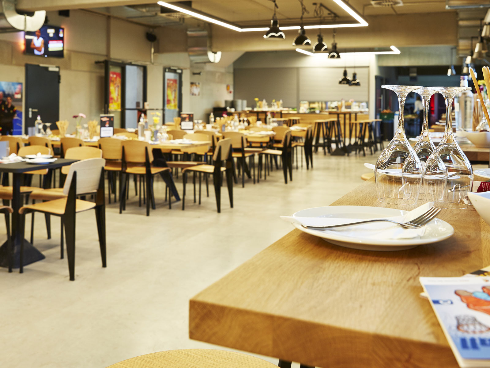 VIP- und Hospitalitybereich in der edel-optics.de Arena