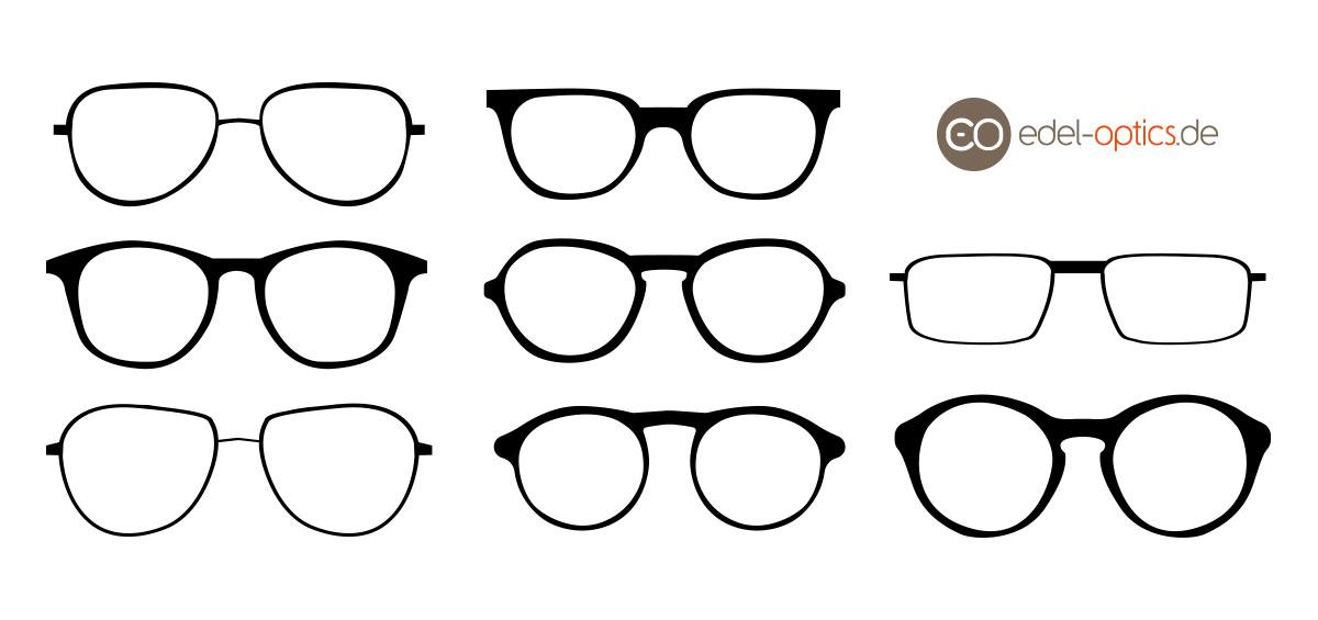 Welche Brille Steht Welcher Gesichtsform Edel Optics Blog